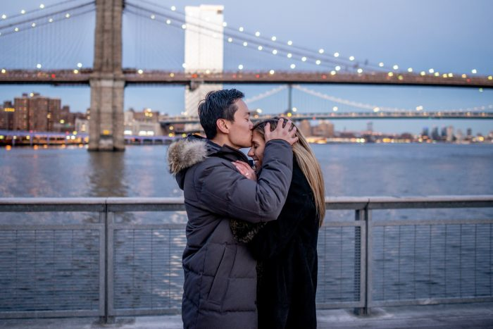 Engagement Proposal Ideas in Pier 17, New York City