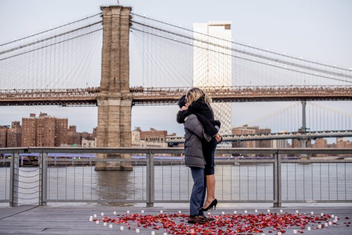 Where to Propose in Pier 17, New York City