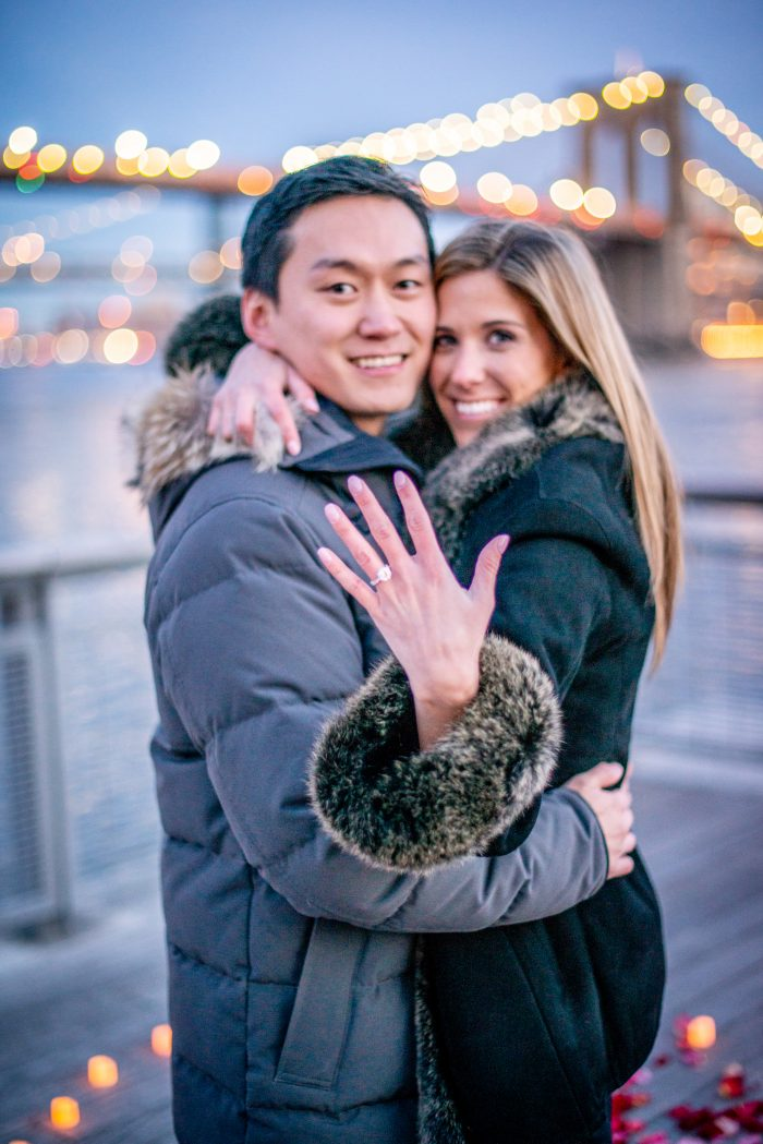 Marriage Proposal Ideas in Pier 17, New York City