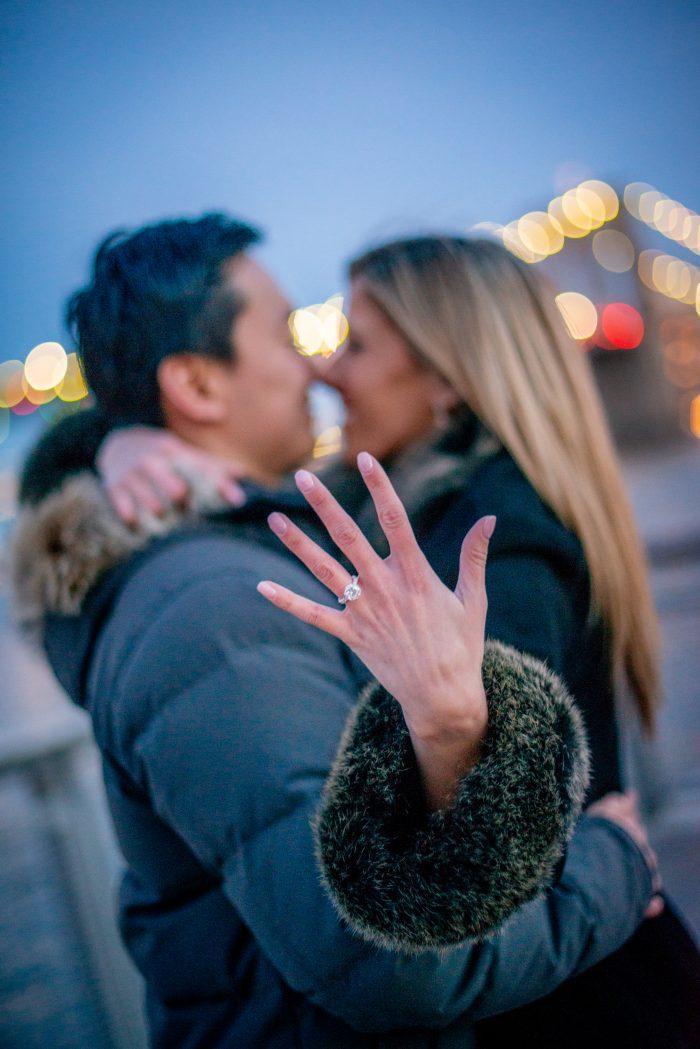 Wedding Proposal Ideas in Pier 17, New York City