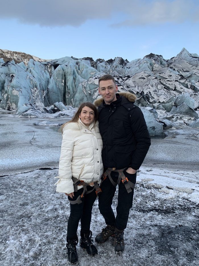 Where to Propose in sólheimajökull Glacier in Iceland