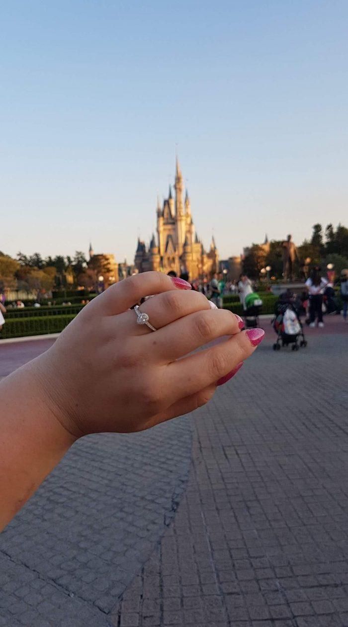 Wedding Proposal Ideas in Tokyo Disneyland