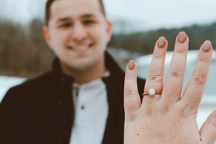 Makenzie's Proposal in Cuyahoga Valley National Park in Ohio