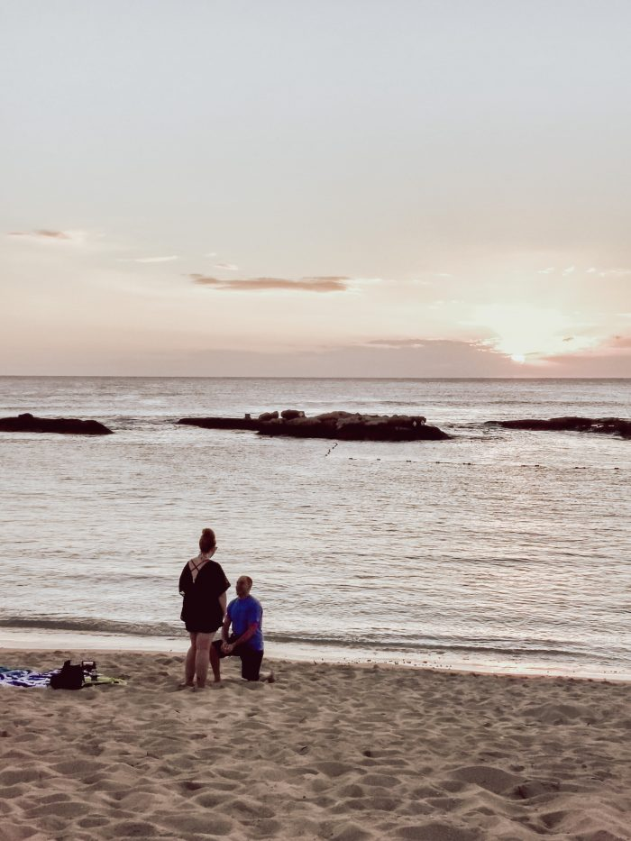 Ashley and Kyle's Engagement in Oahu, HI