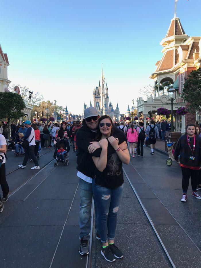 Caroline and John's Engagement in Disney's Polynesian Resort