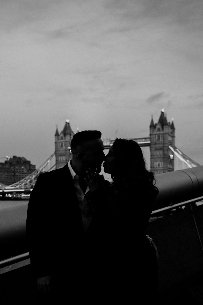 Marriage Proposal Ideas in Tower Bridge in London