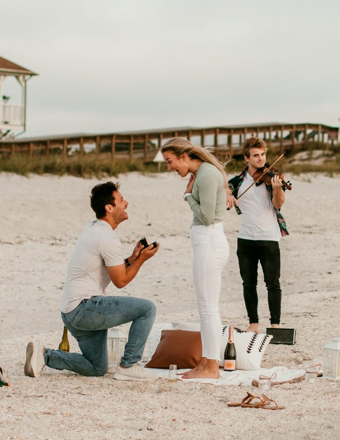 Elizabeth and Brett's Engagement in Boca Grande, Florida
