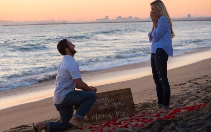 Marriage Proposal Ideas in Sunset Beach, CA