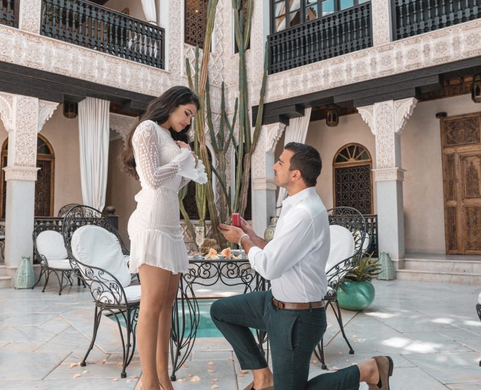 Maryed and Nick's Engagement in Marrakech, Morocco