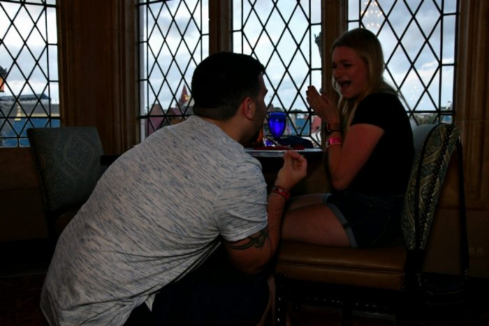 Proposal Ideas Disney world Cinderella's royal table