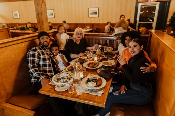 Mercedes and Todd's Engagement in Buckhorn Steakhouse, Winters CA