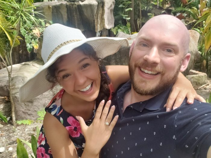 Engagement Proposal Ideas in Ardastra Gardens and Zoo in Nassau, Bahamas