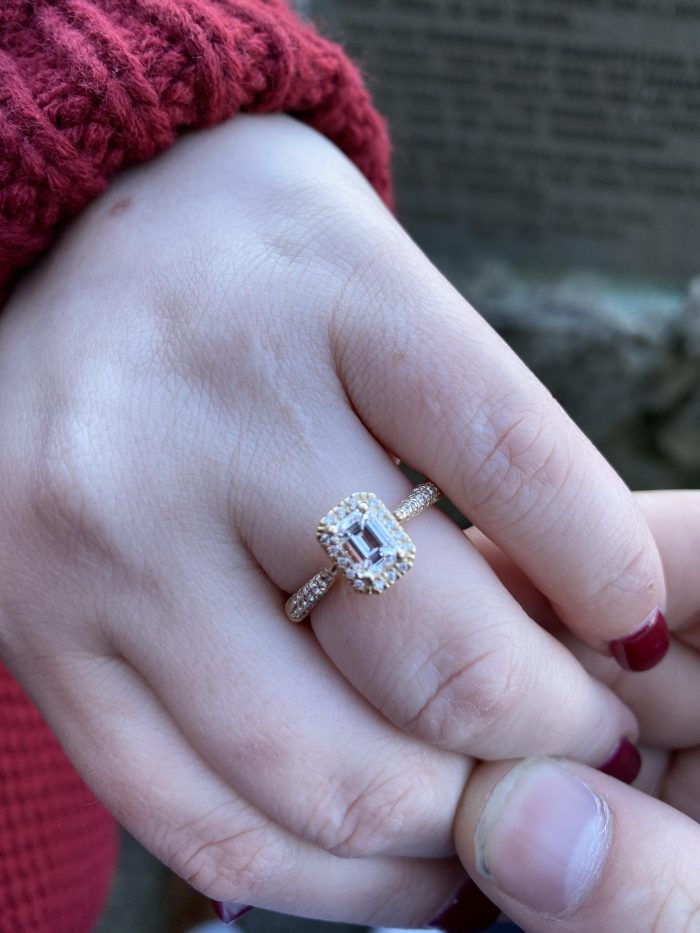 Engagement Proposal Ideas in Pretty Place Chapel