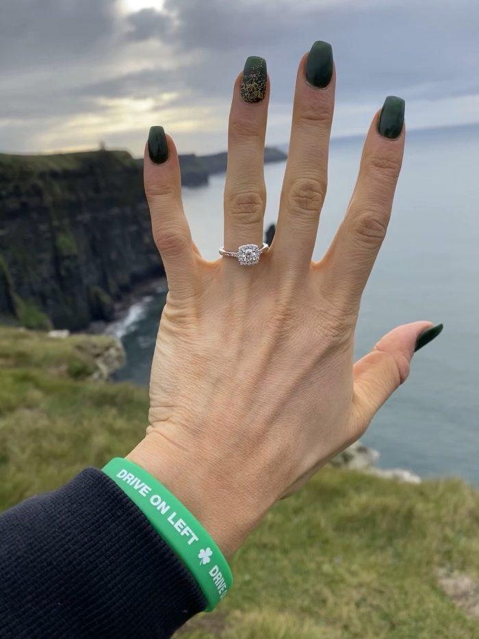 Monika's Proposal in Cliffs of Moher, Ireland