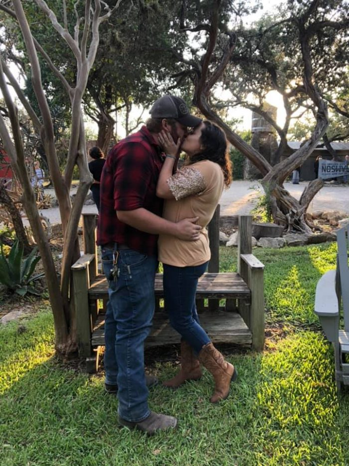 Engagement Proposal Ideas in Winery in Helotes, TX