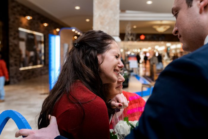 Engagement Proposal Ideas in Apple Store, Denver CO