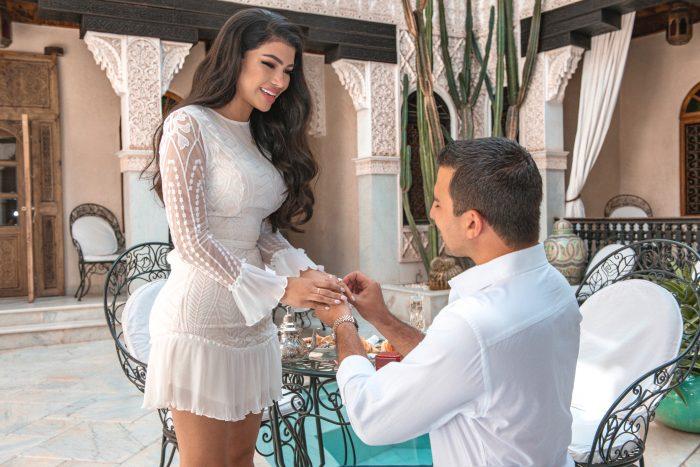Wedding Proposal Ideas in Marrakech, Morocco