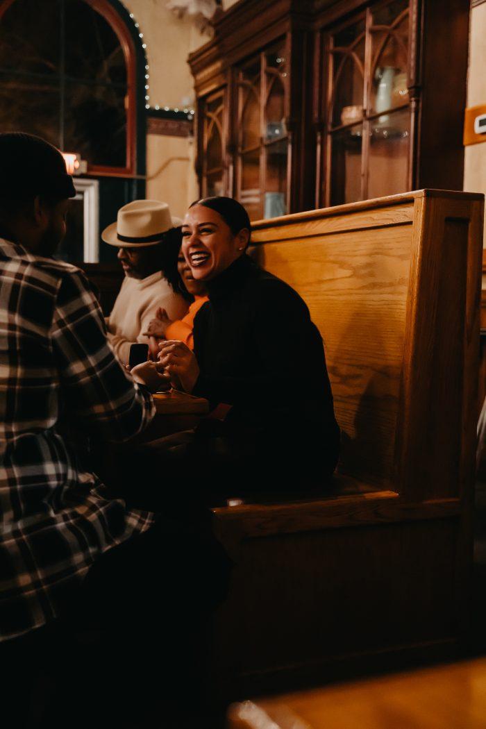 Wedding Proposal Ideas in Buckhorn Steakhouse, Winters CA
