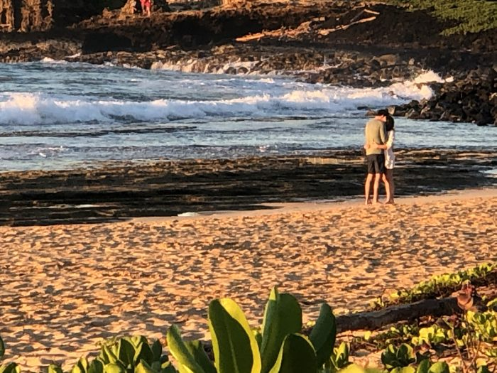 Marriage Proposal Ideas in Shipwreck's Beach, Kauai, HI