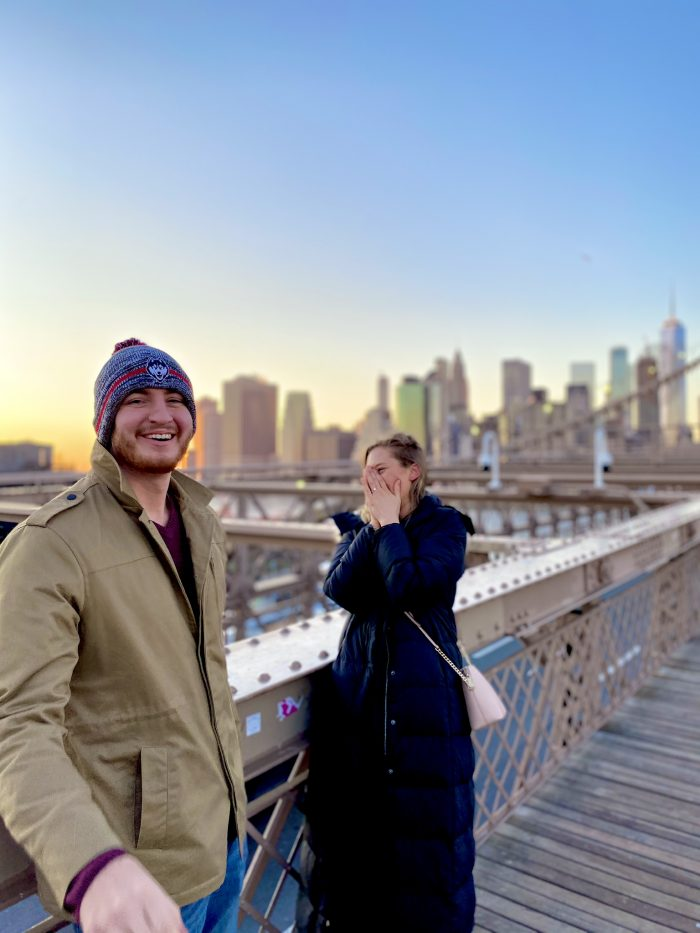Marriage Proposal Ideas in Brooklyn Bridge