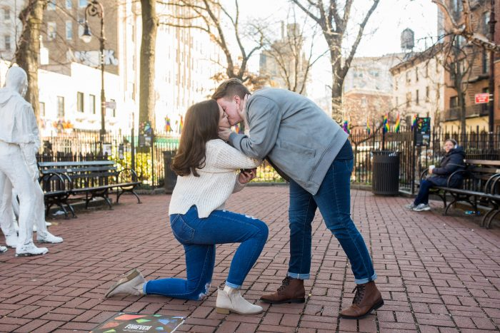 Wedding Proposal Ideas in Grenwich Village, NYC