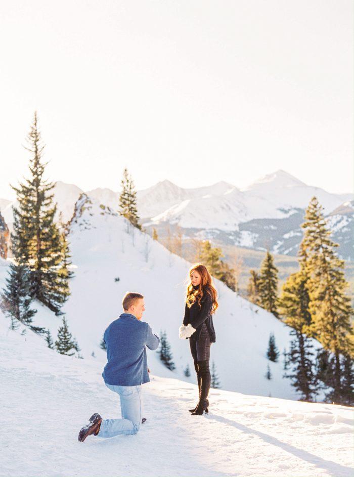 Engagement Proposal Ideas in Breckenridge, Colorado