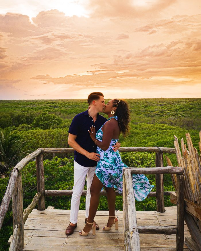Tanya and Anthony's Engagement in Tulum, Mexico