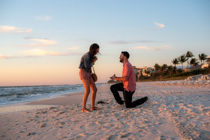 Laura and Tarik's Engagement in Naples, Florida