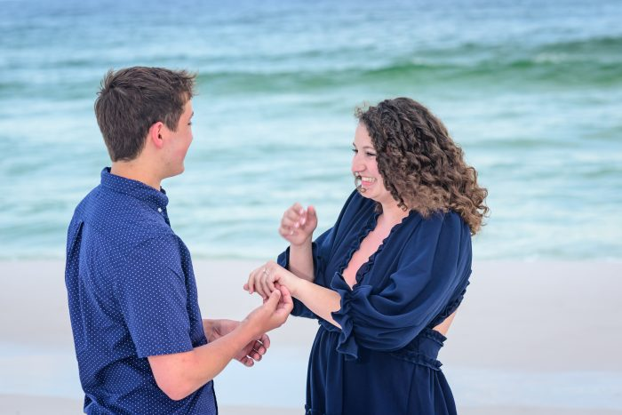 Joscey's Proposal in Destin Florida
