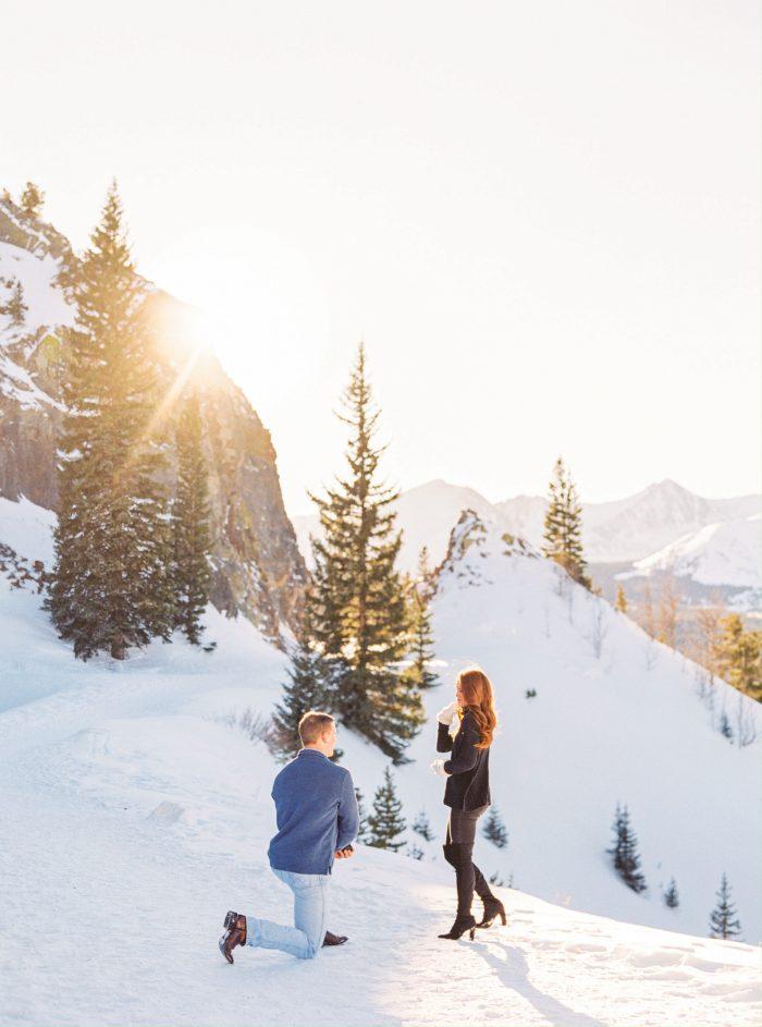Anna's Proposal in Breckenridge, Colorado