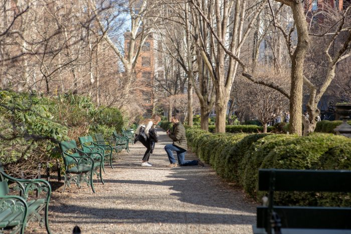 Where to Propose in Gramercy Park, New York