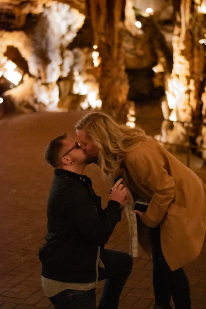 Engagement Proposal Ideas in Luray Caverns