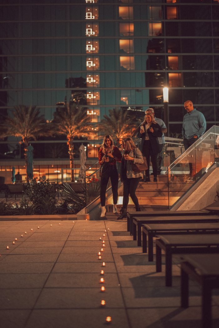 Marriage Proposal Ideas in The Marriott Marquis Houston