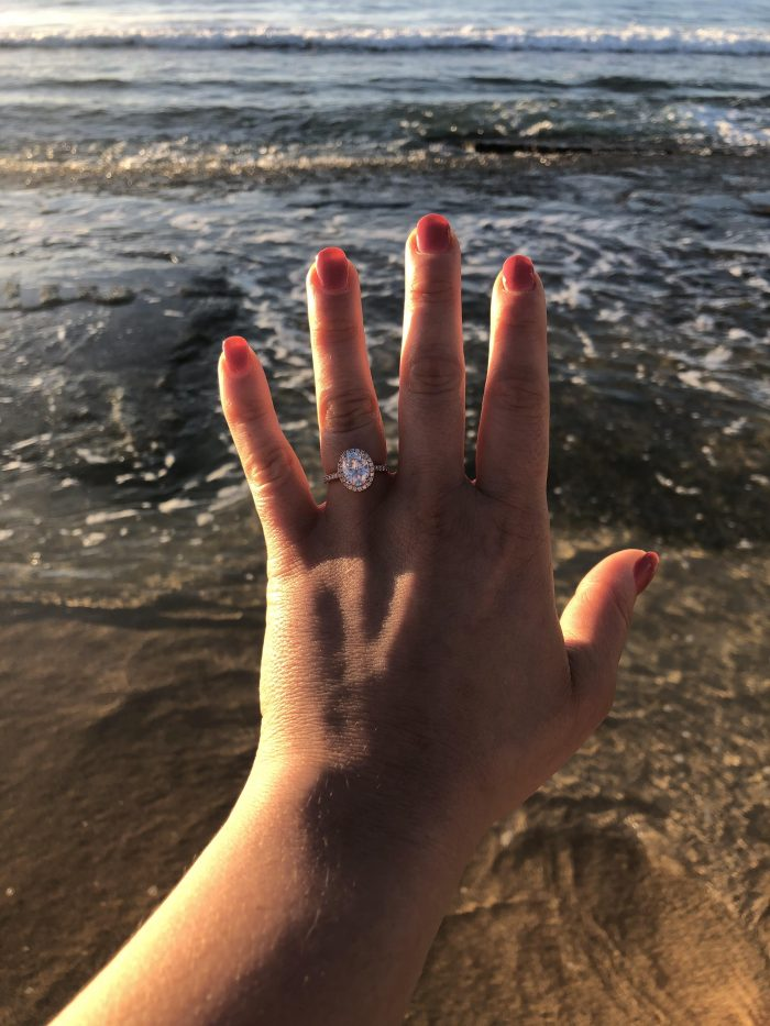 Where to Propose in Shipwreck's Beach, Kauai, HI