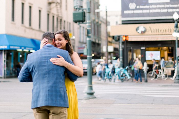Amelia and Daniel's Engagement in New Orleans