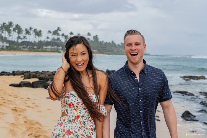 Eunice and Ryan's Engagement in Kauai, HI