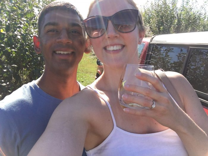 Kerry's Proposal in Mackey Orchards in NJ