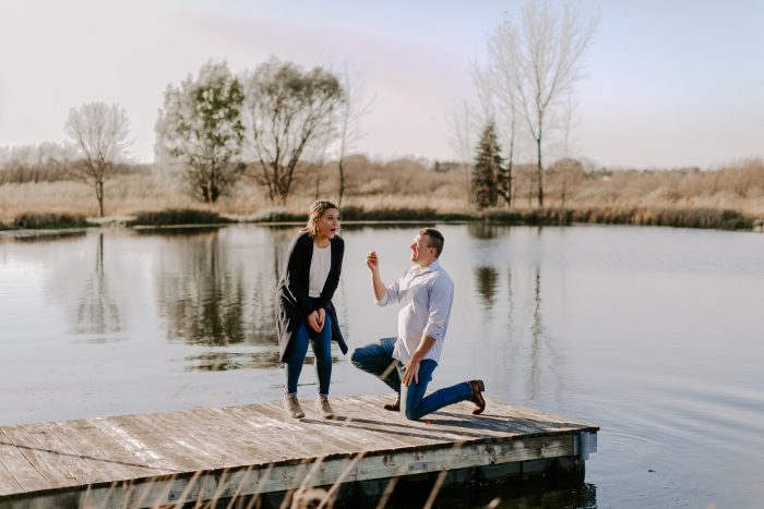 Where to Propose in At a family photoshoot