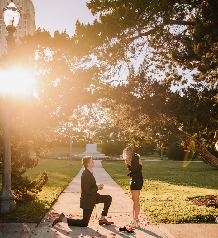 Where to Propose in Arsenal Park - Downtown Baton Rouge
