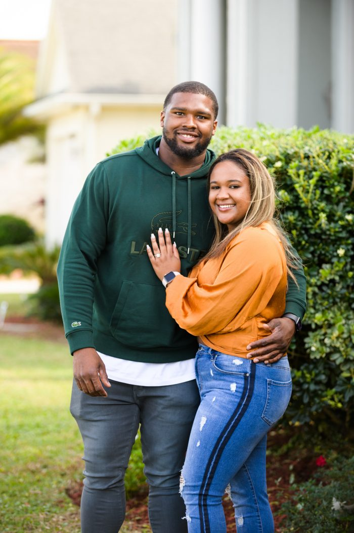 Where to Propose in Jada's home in New Orleans, Louisiana