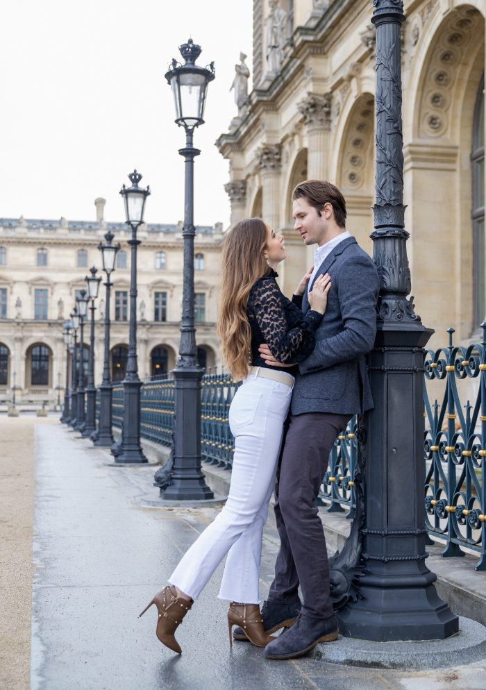 Eileen and Daniel's Engagement in Paris, France