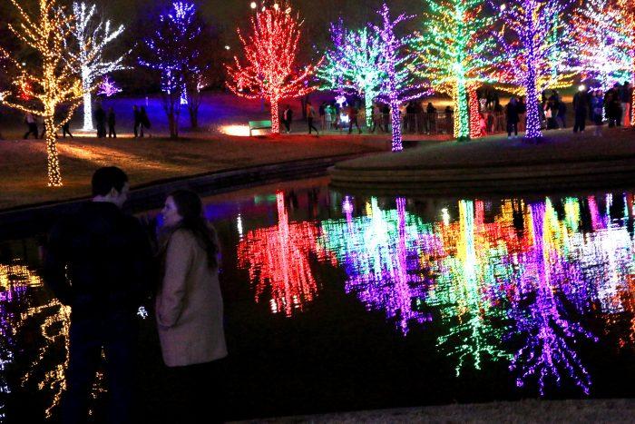 Laura's Proposal in Vitruvian Park in Addison, TX