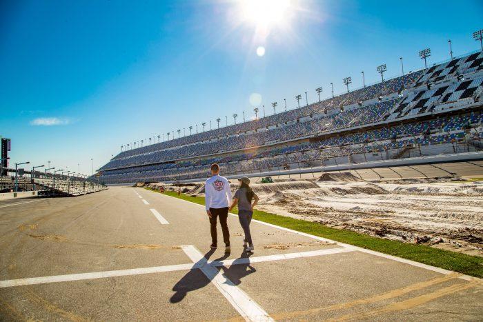Engagement Proposal Ideas in Daytona International Speedway