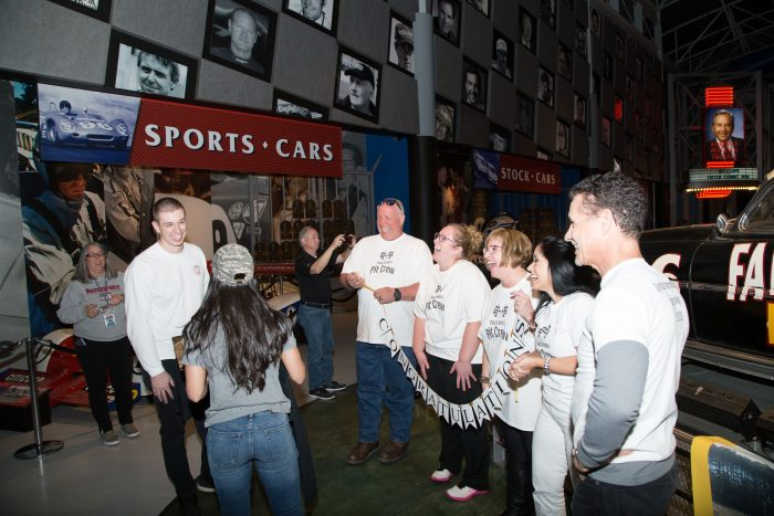 Katie's Proposal in Daytona International Speedway