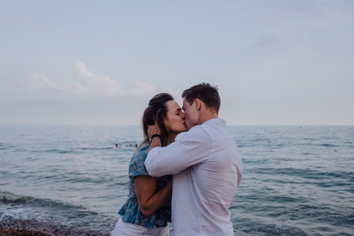 Wedding Proposal Ideas in Hove Beach front