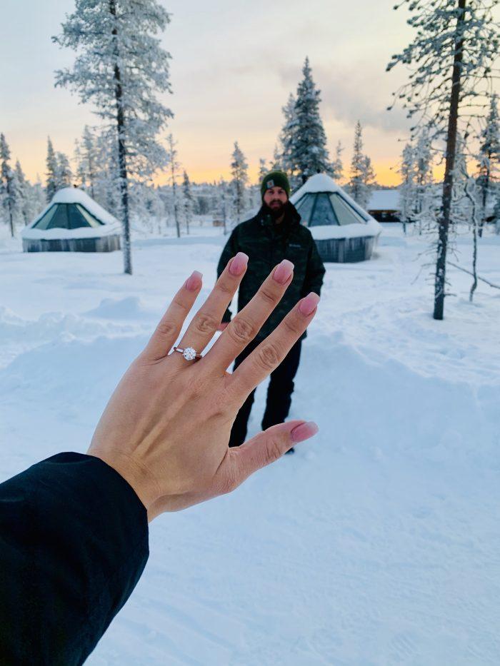 Marriage Proposal Ideas in Saariselka, Finland