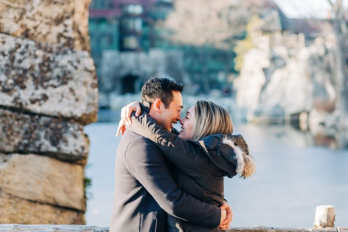 Samantha's Proposal in Mohonk Mountain