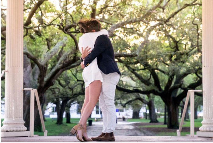 Kelsey and Steven's Engagement in Charleston, SC