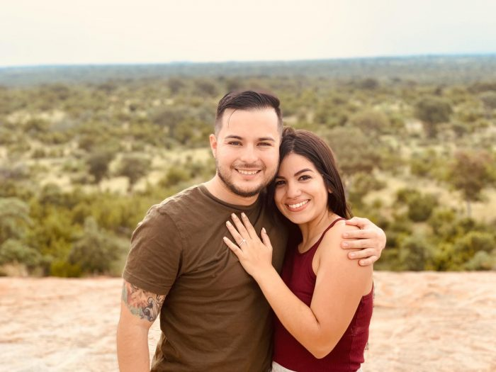 Angelik and Guillermo's Engagement in South Africa