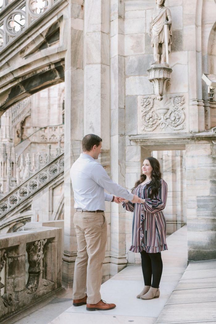 Where to Propose in Duomo di Milano